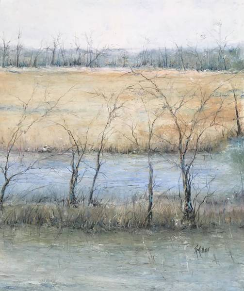 Painting - Bayous And Blues by Robin Miller-Bookhout
