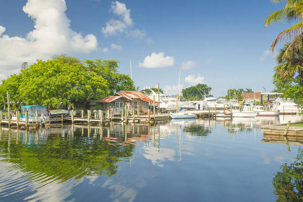 Photograph - Bayshore Fish Shack by Sean Allen
