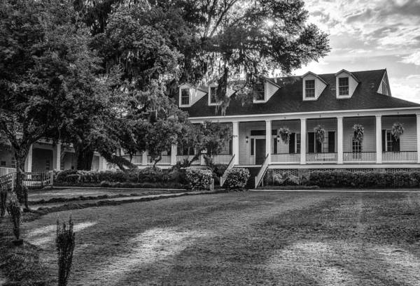 Photograph - Bayside Academy Full Front Bw by Michael Thomas