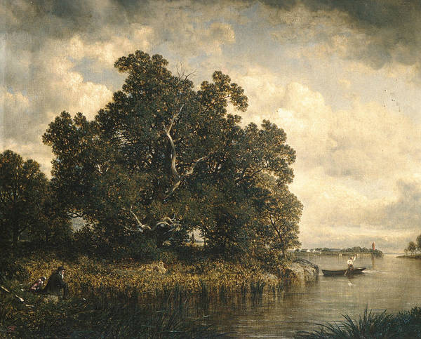 Painting - Bayside, New Rochelle, New York by David Johnson