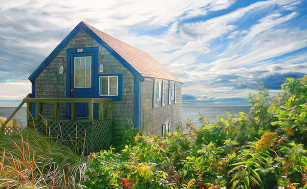 Digital Art - Bayside Retreat by Sue  Brehant