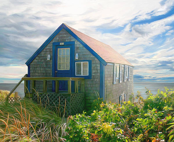Painting - Bayside Retreat2 by Sue  Brehant