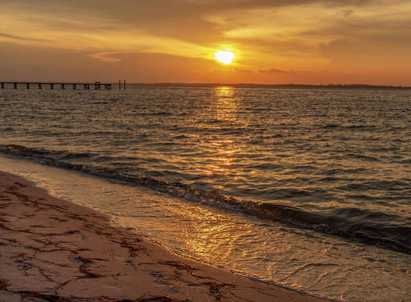 Photograph - Bayside Sunset by Keith Smith