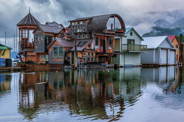Photograph - Bayview Houseboat by Harold Coleman