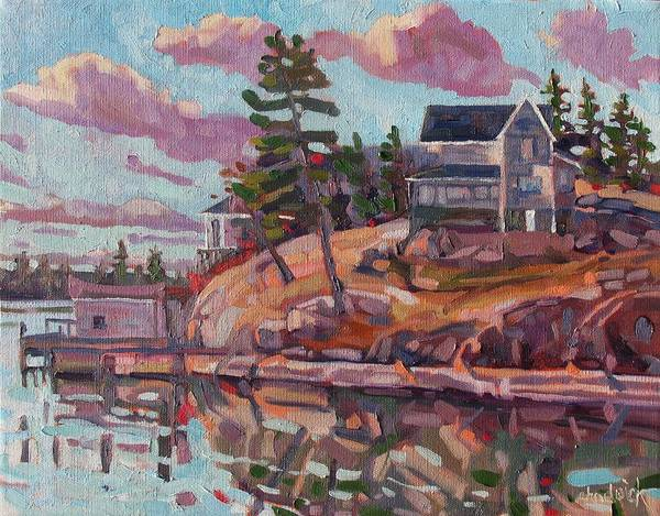 Stratocumulus Painting - Bayview by Phil Chadwick