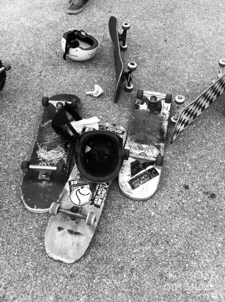Photograph - Bored Boards by WaLdEmAr BoRrErO
