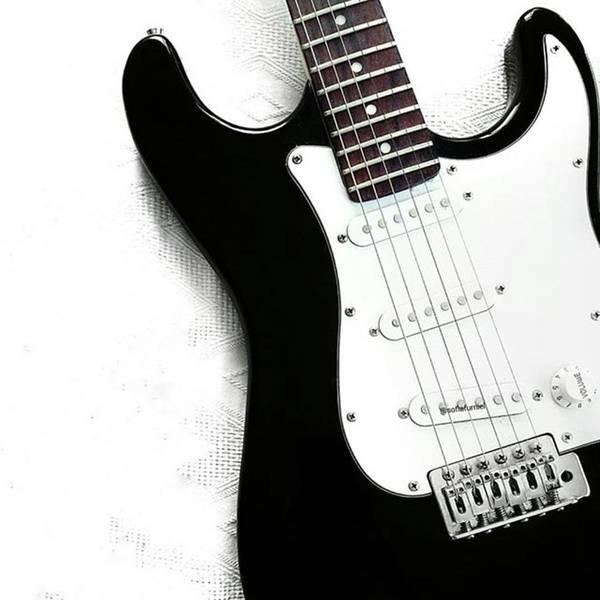 Wall Art - Photograph - Electric Guitar by Jul V