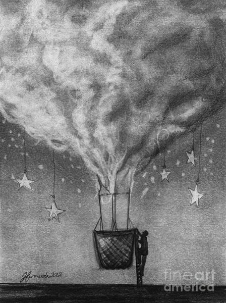 Imagination Drawing - Be A Traveler by J Ferwerda