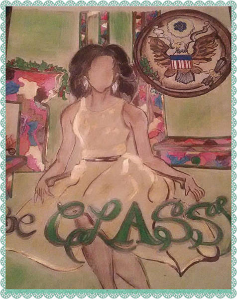 Dope Mixed Media - Be Classy by Georgette Huston