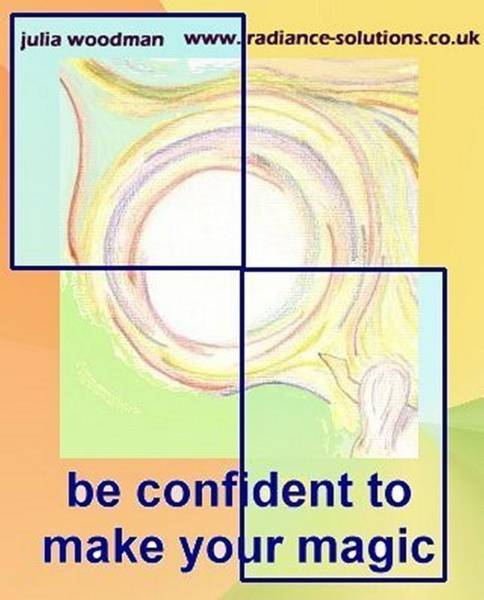Drawing - Be Confident To Make Your Magic by Julia Woodman
