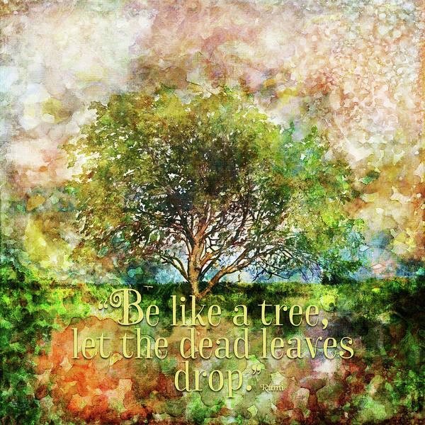 Painting - Be Like A Tree by Christina VanGinkel
