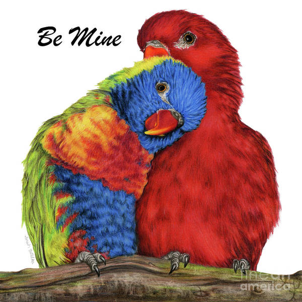 Wall Art - Painting - Be Mine by Sarah Batalka