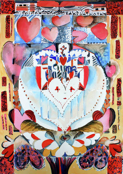 Wall Art - Painting - Be Mine Valentine by Mindy Newman