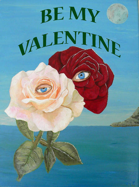 Painting - Be My Valentine by Eric Kempson