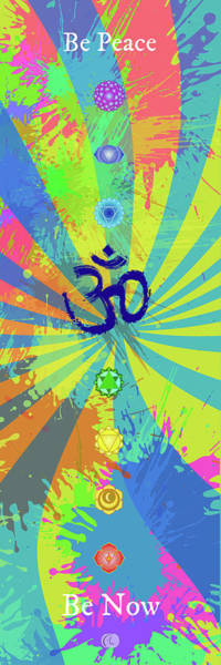 Wall Art - Digital Art - Be Peace by George Lacy