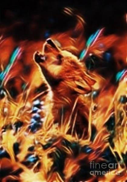 Timber Wolves Digital Art - Be The One by Hans Gns