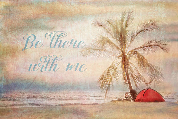 Digital Art - Be There With Me by Ramona Murdock