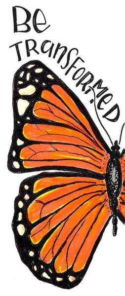 Drawing - Be Transformed by Nancy Ingersoll