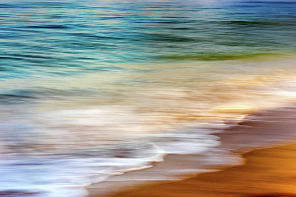Photograph - Beach Abstract by Christopher Johnson