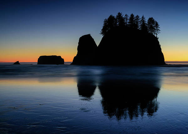 Photograph - Beach Afterglow by Michael Blanchette