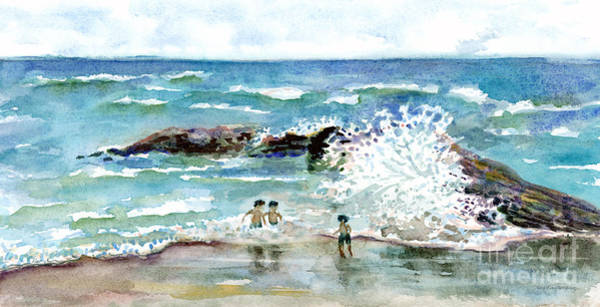 Painting - Beach Amigos by Amy Kirkpatrick