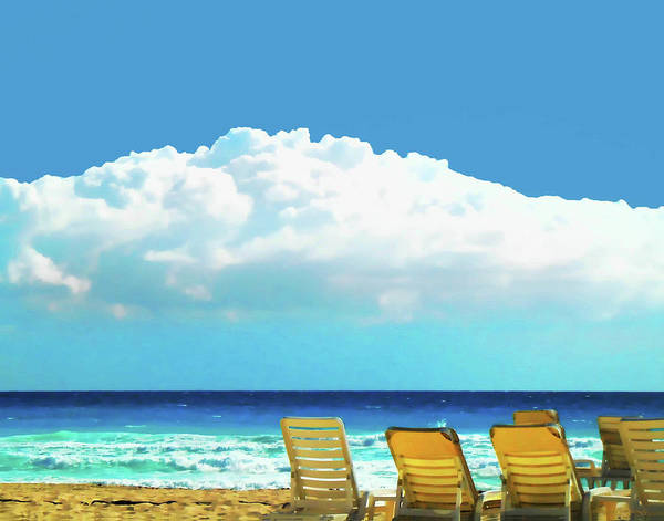 Photograph - Beach At Cancun by Coleman Mattingly
