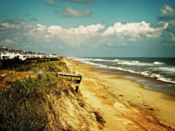 Beach At Corolla Art Print