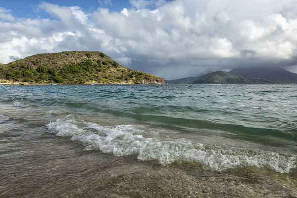 St Kitts Photograph - Beach At St. Kitts by Belinda Greb