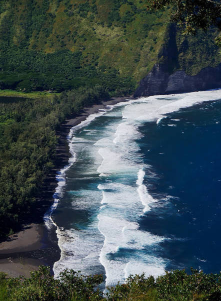 Photograph - Beach At Waipio Valley by Pamela Walton