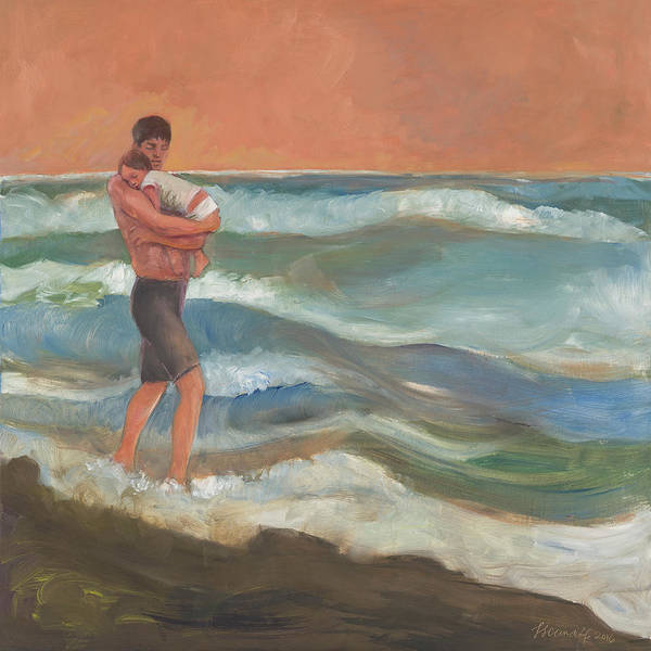 Painting - Beach Baby by Laura Lee Cundiff