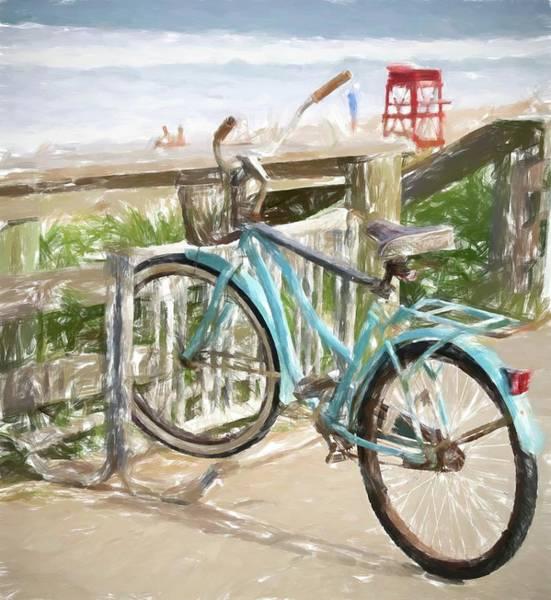Photograph - Beach Bike by Alice Gipson