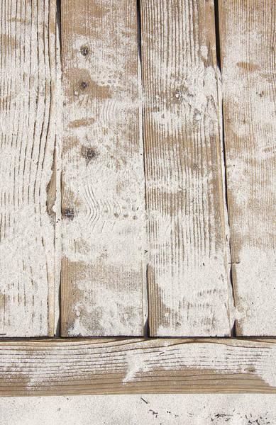 Wall Art - Photograph - Beach Boardwalk Abstract 2 by Steve Ohlsen