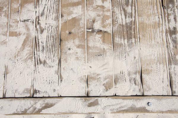Wall Art - Photograph - Beach Boardwalk Abstract by Steve Ohlsen