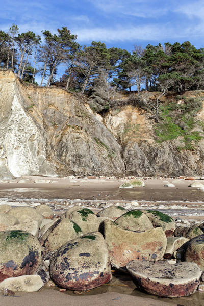 Wall Art - Photograph - Beach Boulders by Kathleen Bishop