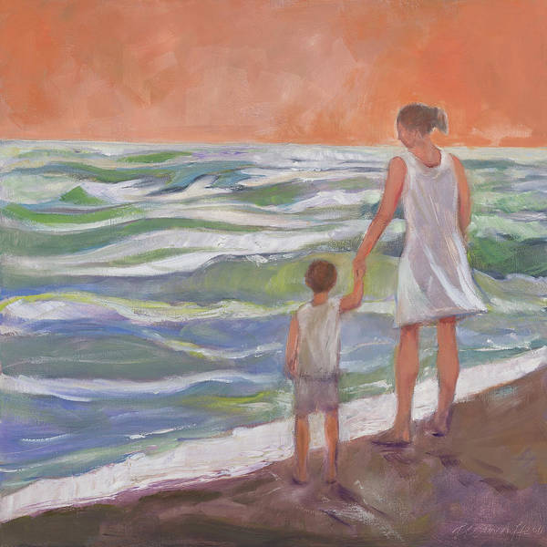 Painting - Beach Boy by Laura Lee Cundiff