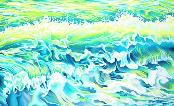 Beach Break Wave Art Print