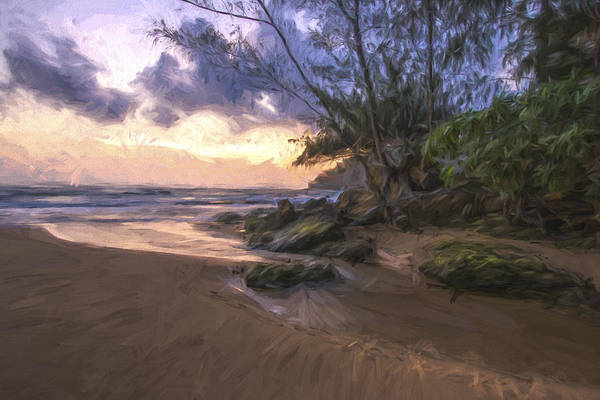 Beautiful Scenery Digital Art - Beach Brilliance II by Jon Glaser
