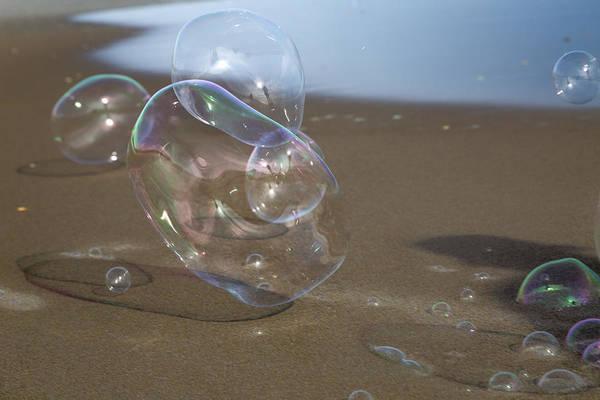 Wall Art - Photograph - Beach Bubbles by Betsy Knapp