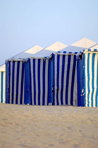 Photograph - Beach Cabanas by Jill Reger