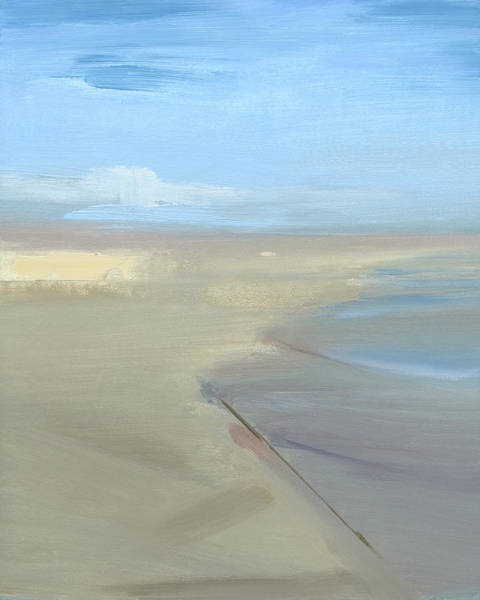 Outer Banks Painting - Beach by Chris N Rohrbach