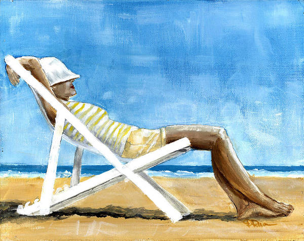 Painting - Beach Day by Debbie Brown