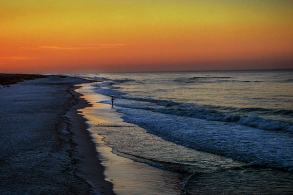 Photograph - Beach Fishing On The Gulf Of Mexico by Michael Thomas