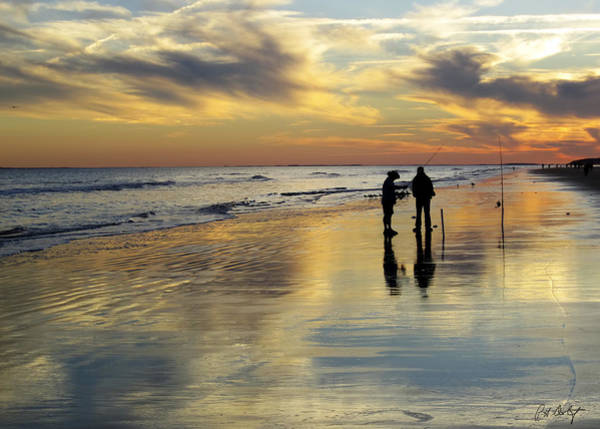 Hilton Head Island Photograph - Beach Fishing  by Phill Doherty