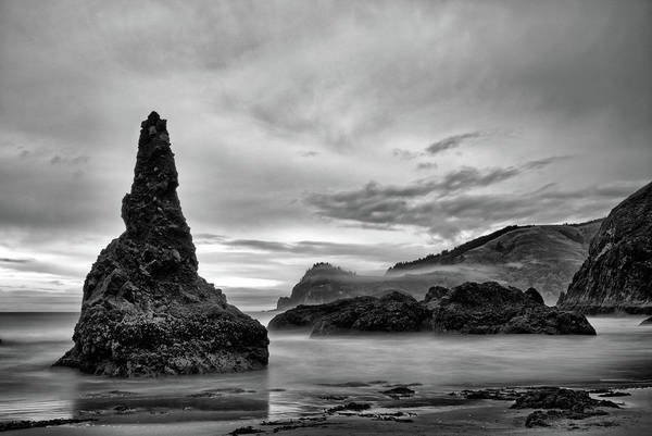 Photograph - Beach Formations by Jedediah Hohf