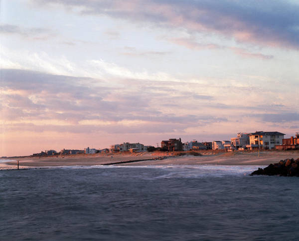 Abode Photograph - Beach Front Homes Virginia Beach Va by Panoramic Images