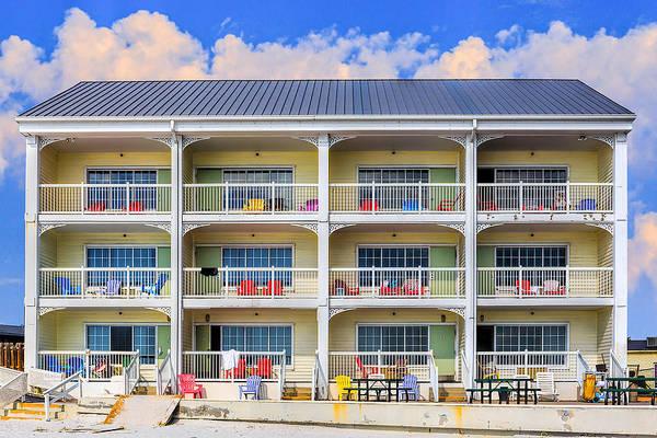 Photograph - Beach Front Hotel by Robert FERD Frank