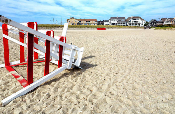 Photograph - Beach Front In Cape May by John Rizzuto
