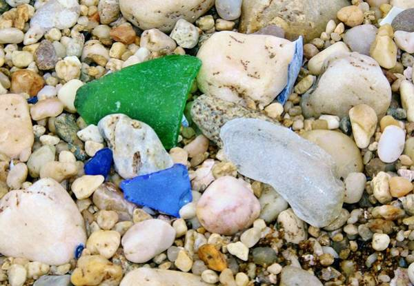Beach Glass Art Print