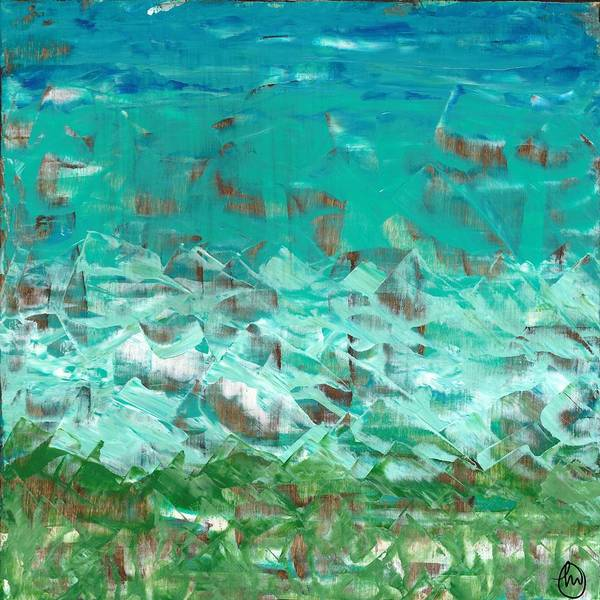 Painting - Beach Glass  by Monica Martin