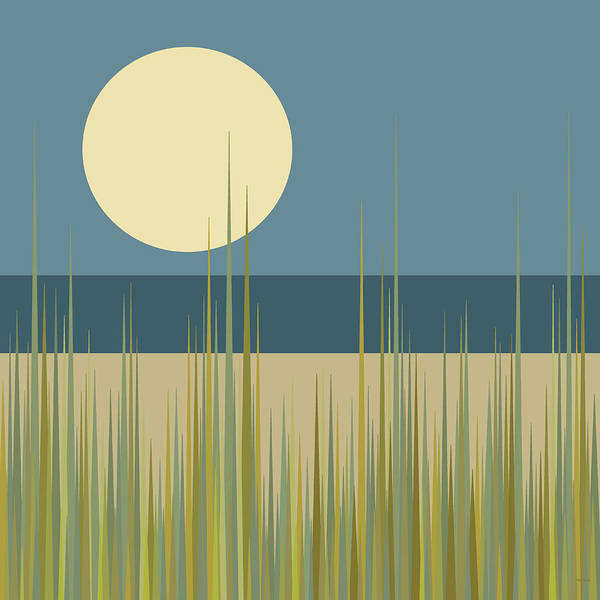 Digital Art - Beach Grass by Val Arie